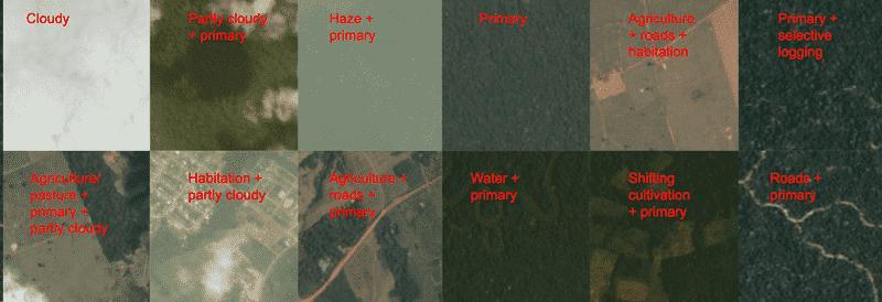 Segmentación multietiquetas—Clasificación de Imágenes