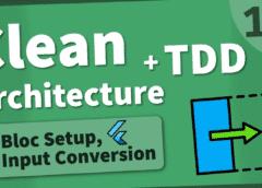 Flutter Arquitectura Limpia [10] –  Bloc Scaffolding y Conversión de Entrada