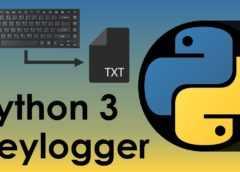 keylogger python